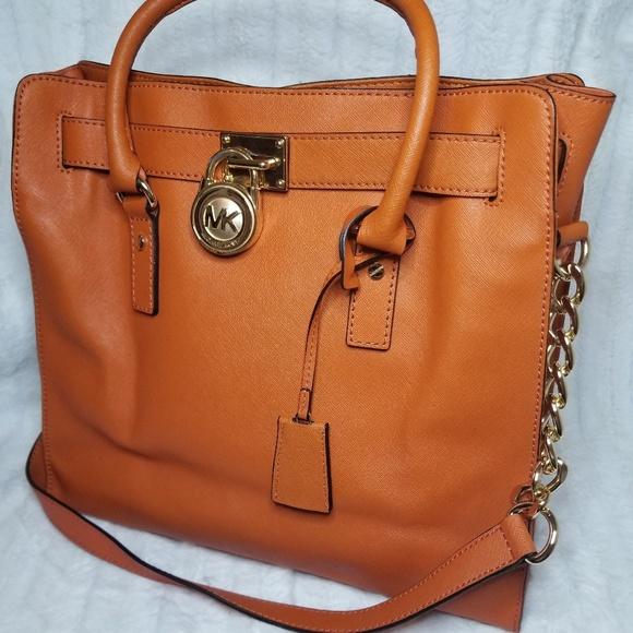 Michael Kors Handbags - Large Hamilton MK Bag